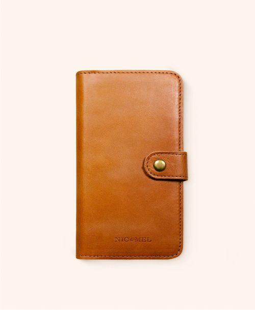 Andrew cognac wallet iphone 11 Pro