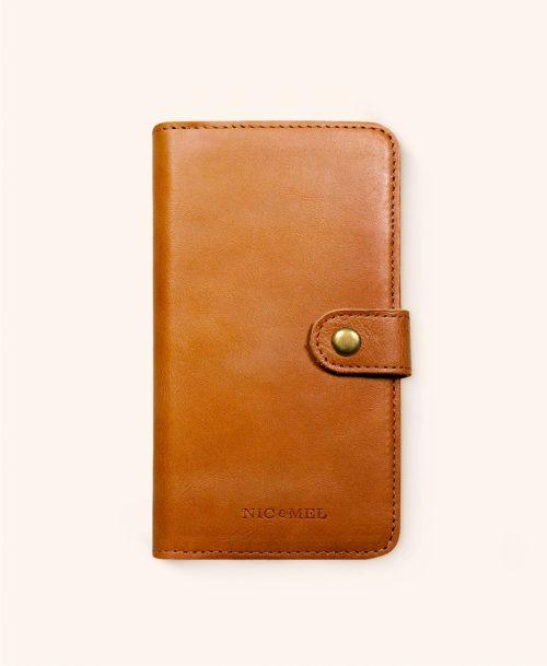 Andrew cognac wallet iphone 11
