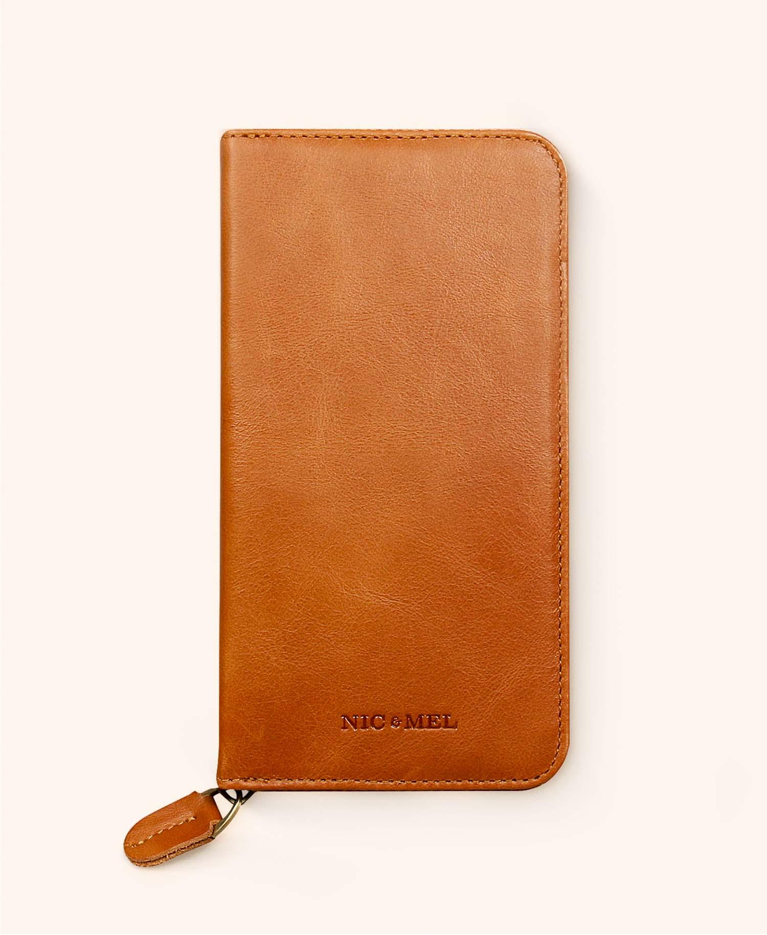 Greg cognac wallet iphone 11