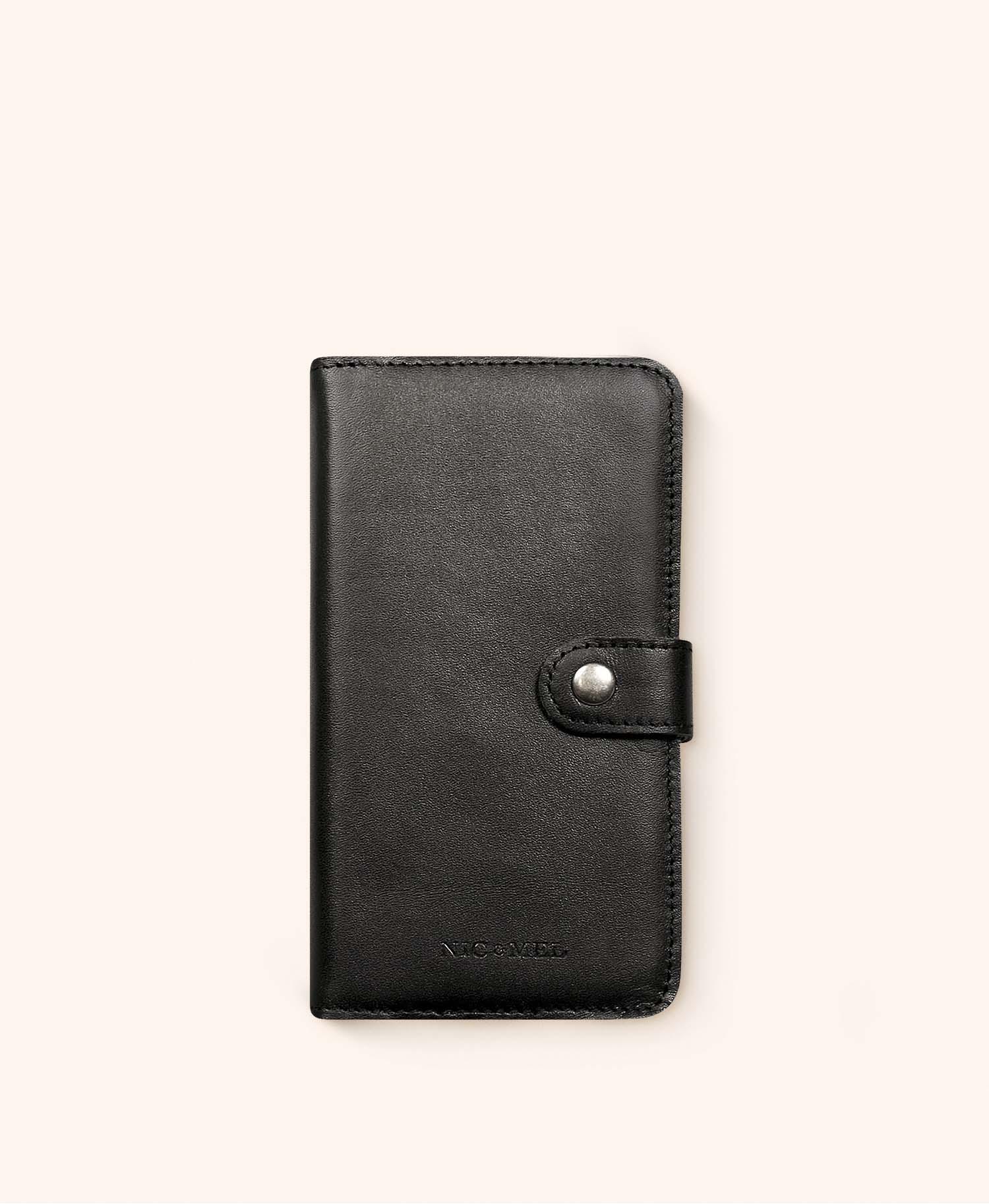 Andrew black wallet iphone 12 Mini