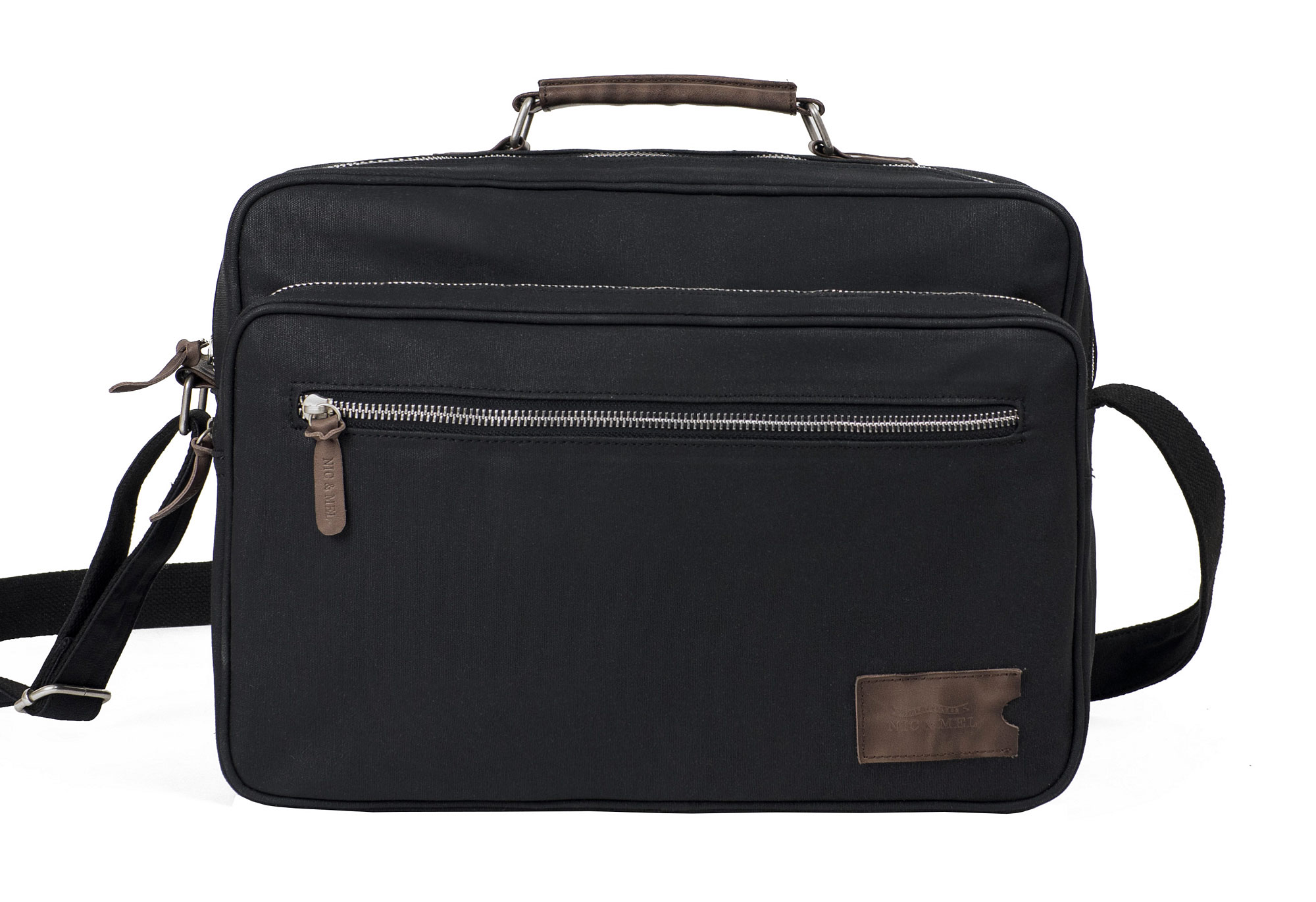 KIRK COMPUTERBAG 12-13″ <br>Black Canvas