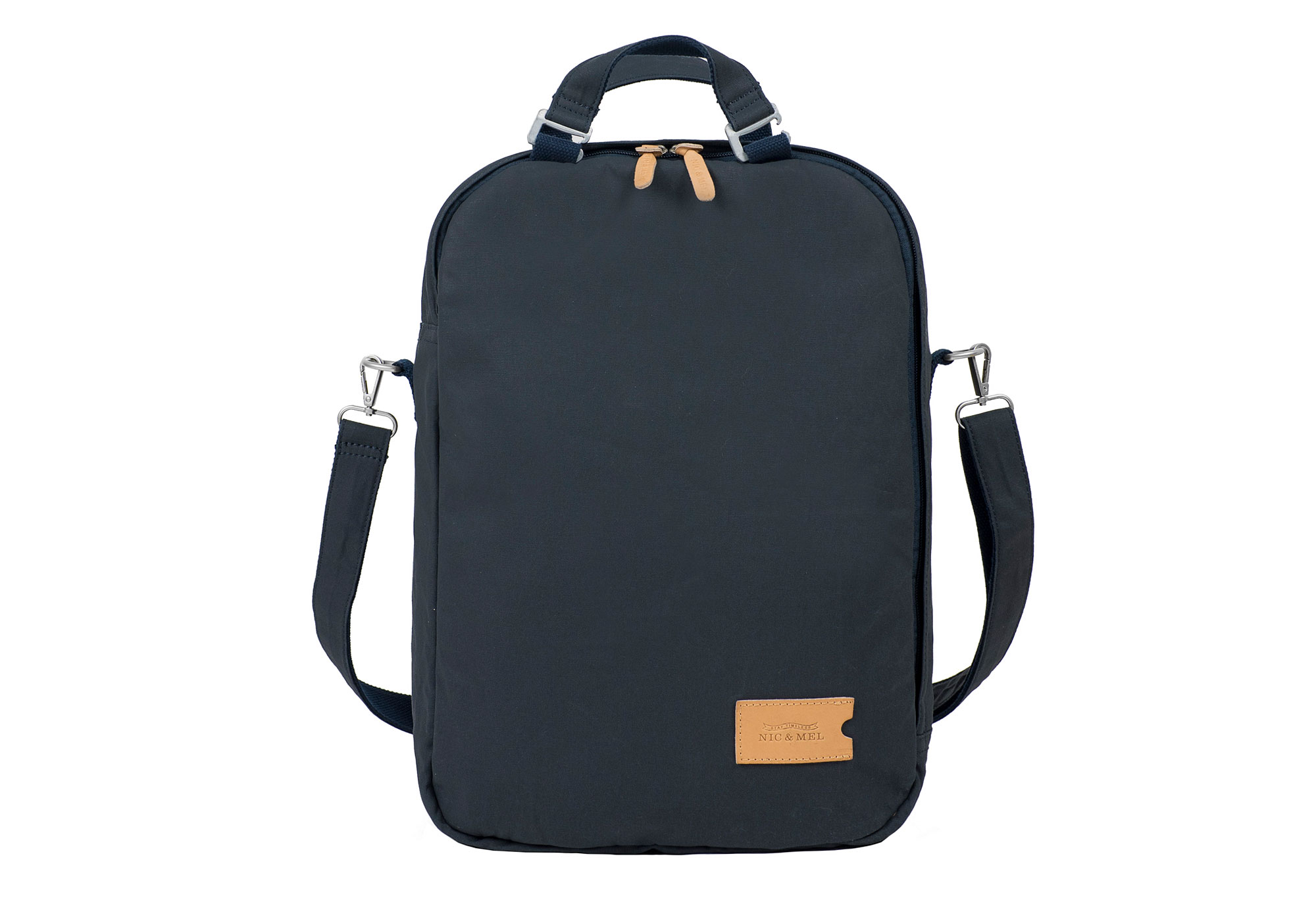 CARTER DAY PACK 12-15″ <br>Blue Canvas