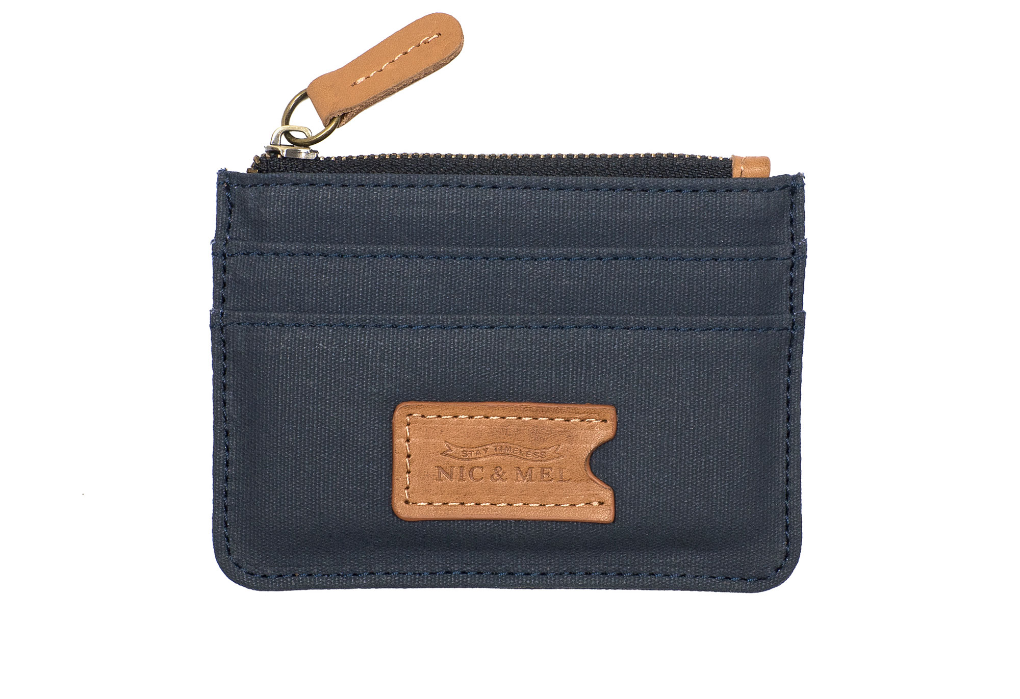CHARLIE CARD WALLET <br>Blue Canvas