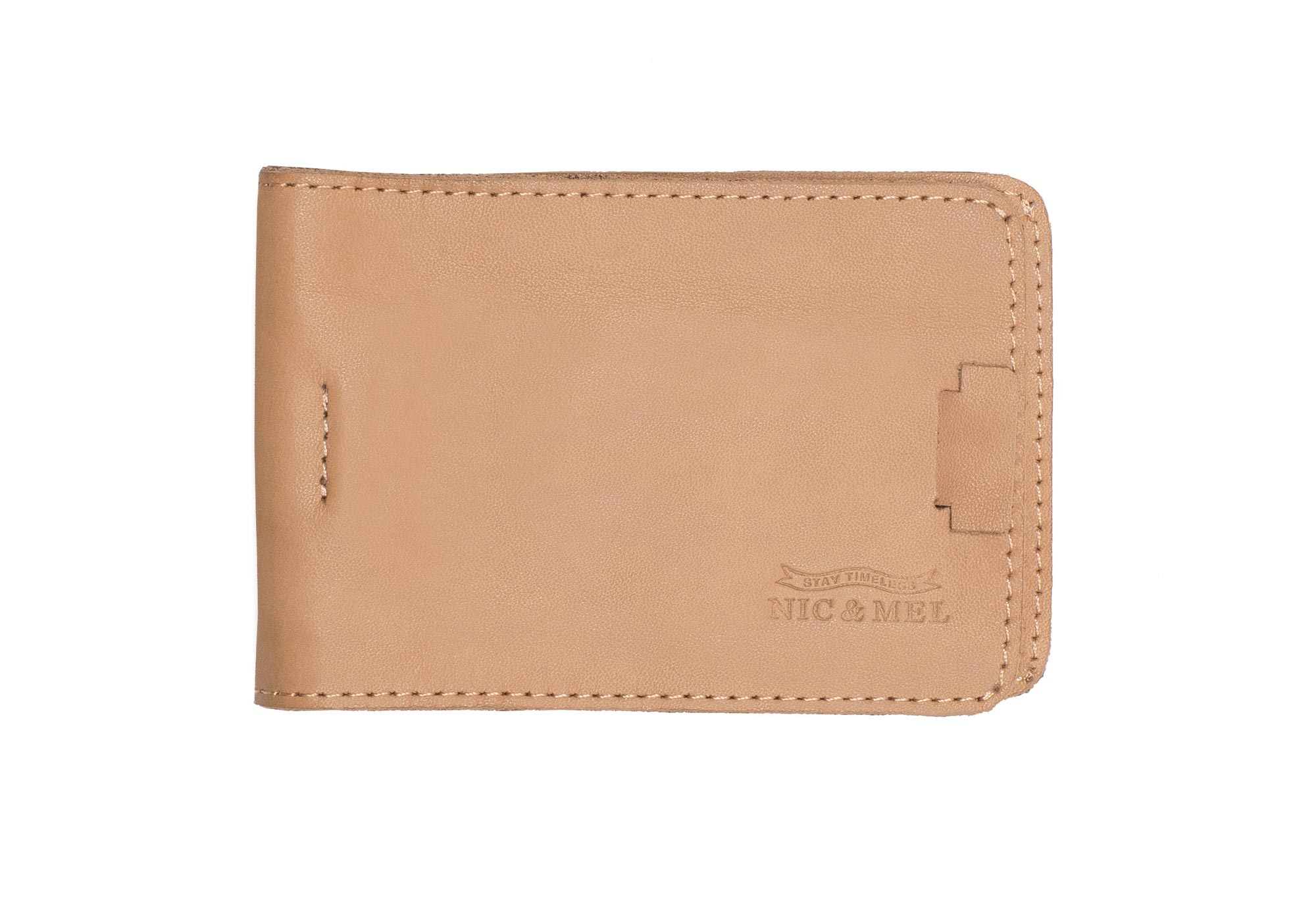 FLOYD CARD HOLDER<br> Naked Leather <br> with Money Clip