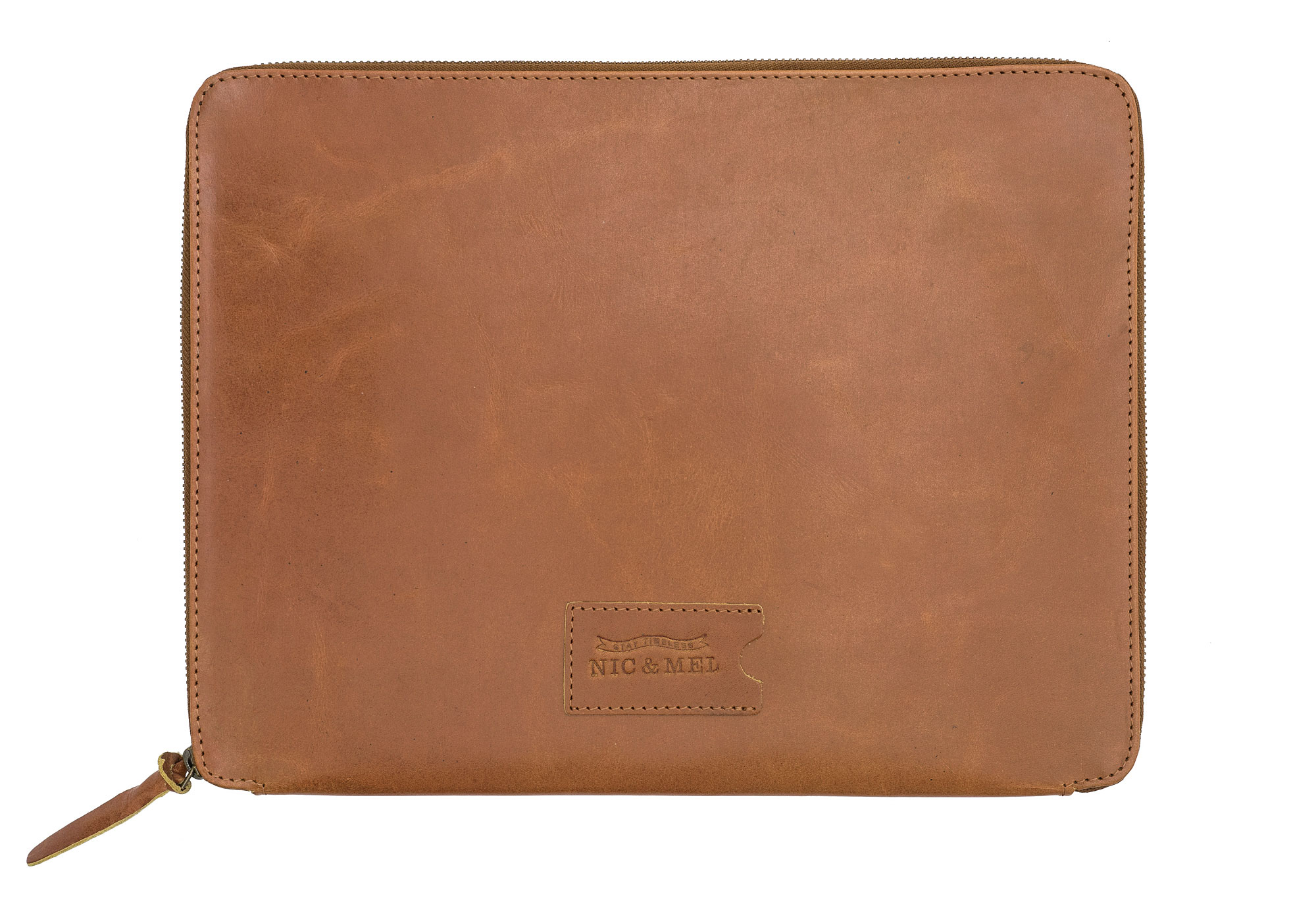 HUMPHREY SLEEVE 13″ <br>Cognac Leather