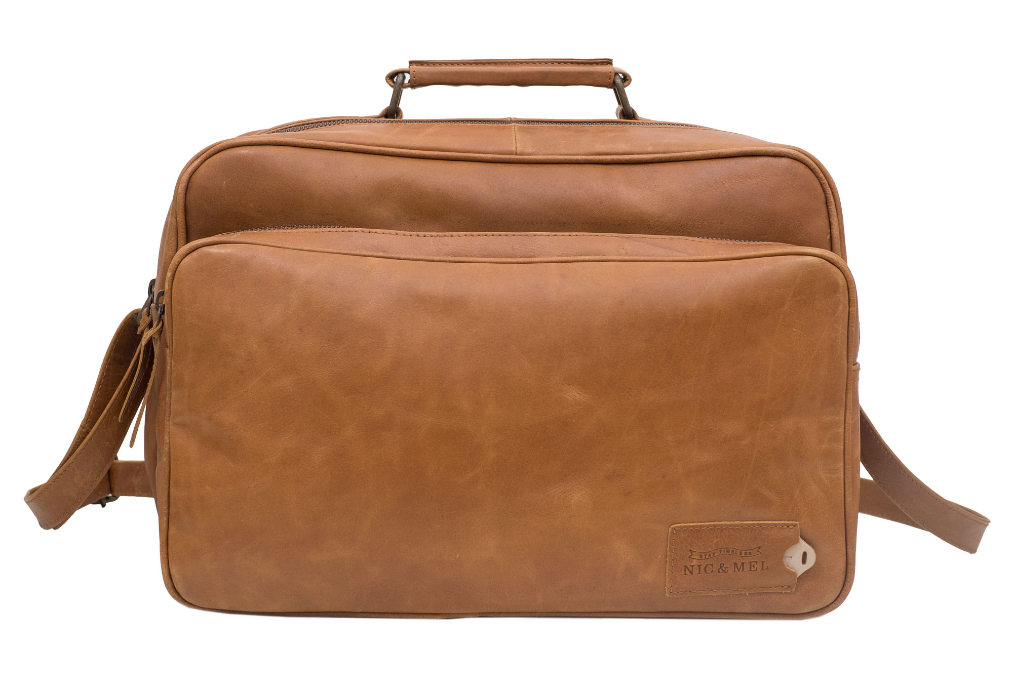 KIRK COMPUTERBAG 12-13″ <br>Cognac Leather