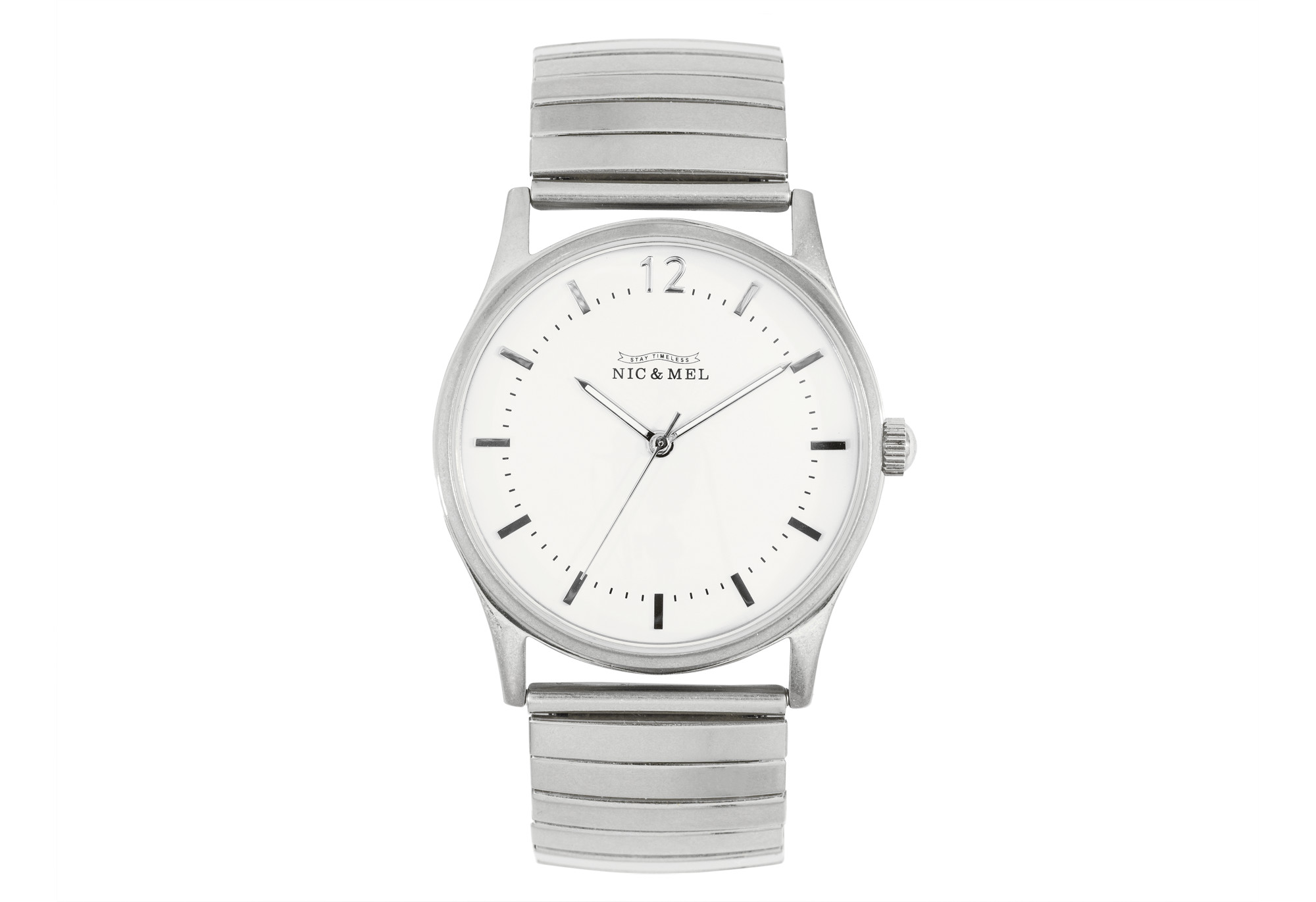 KENNEDY WRISTWATCH <br>Stainless Steel