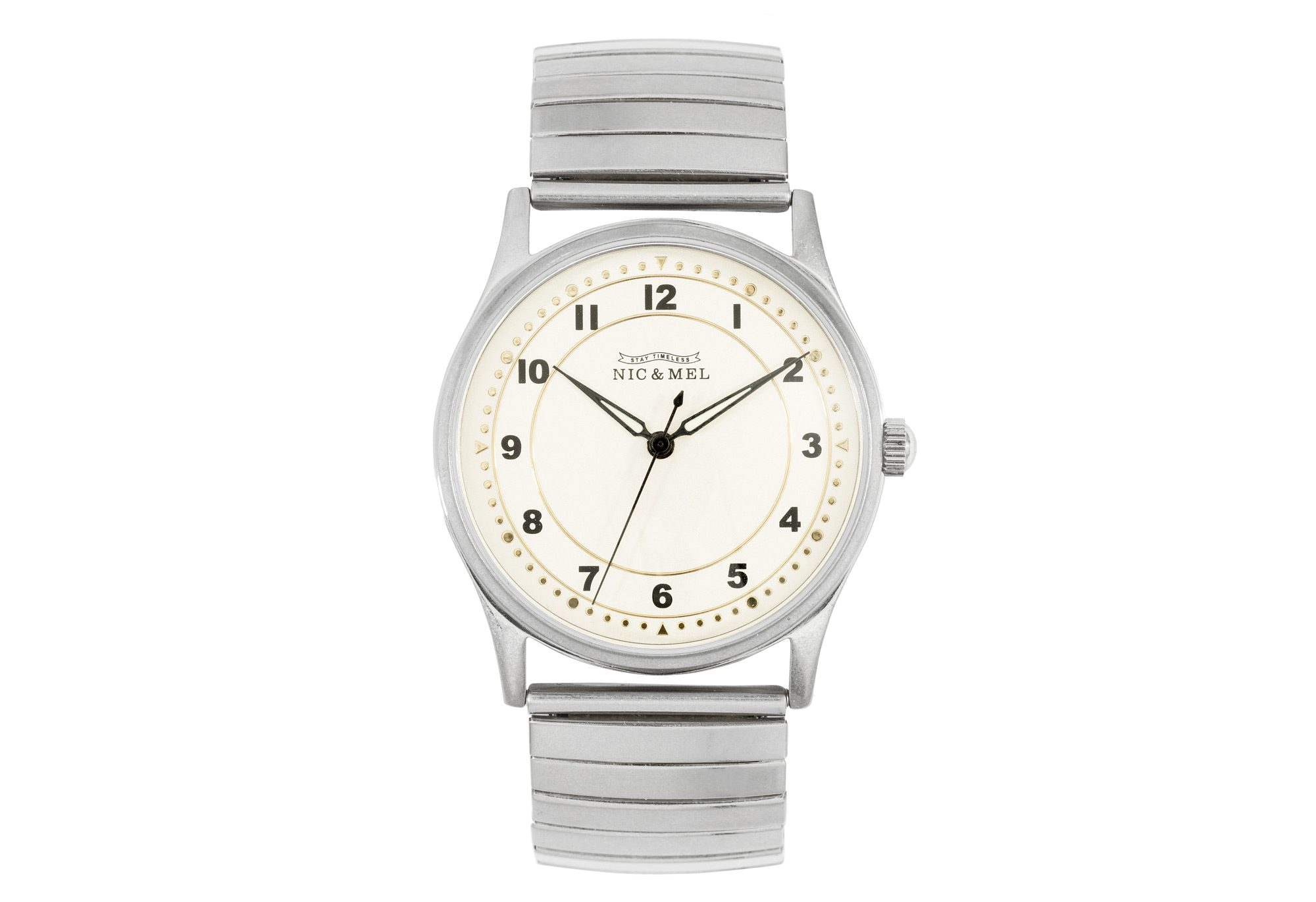 LEE WRISTWATCH <br> Stainless Steel