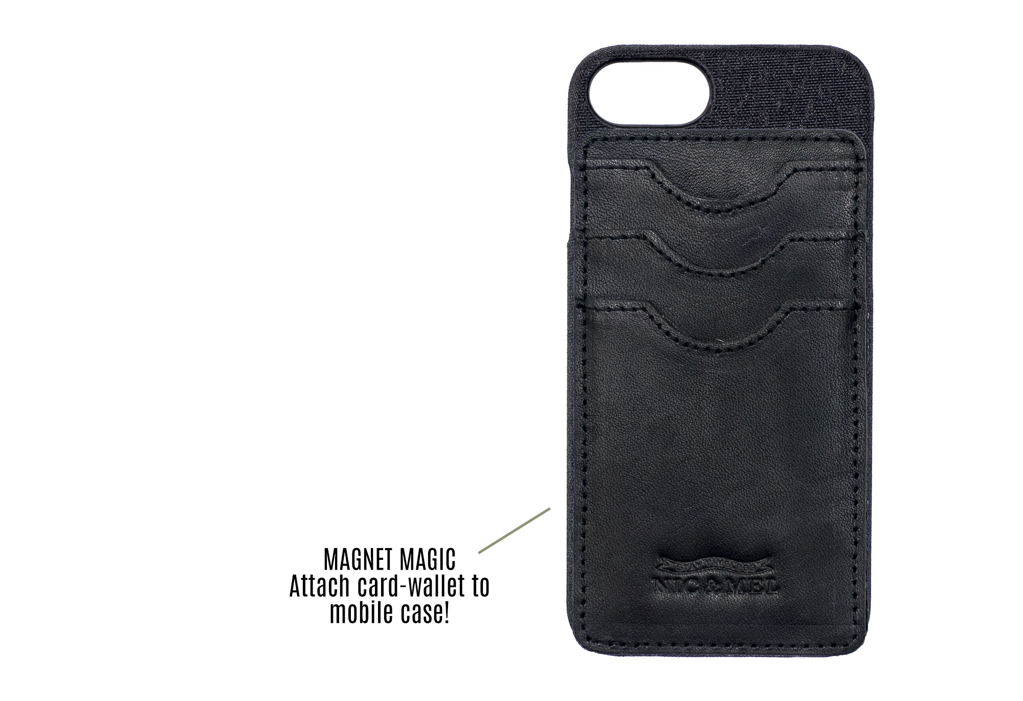 Andy Magnetic Wallet and iPhone Case