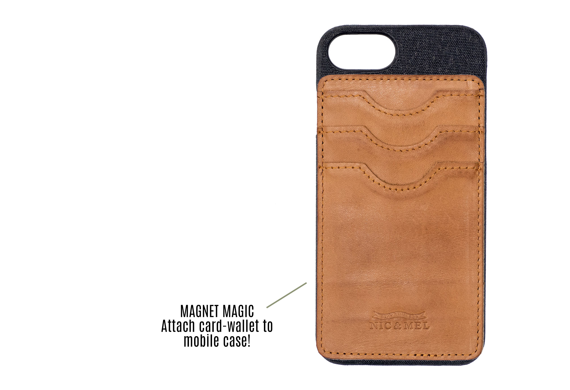 Andy Magnetic wallet iPhone 6/7
