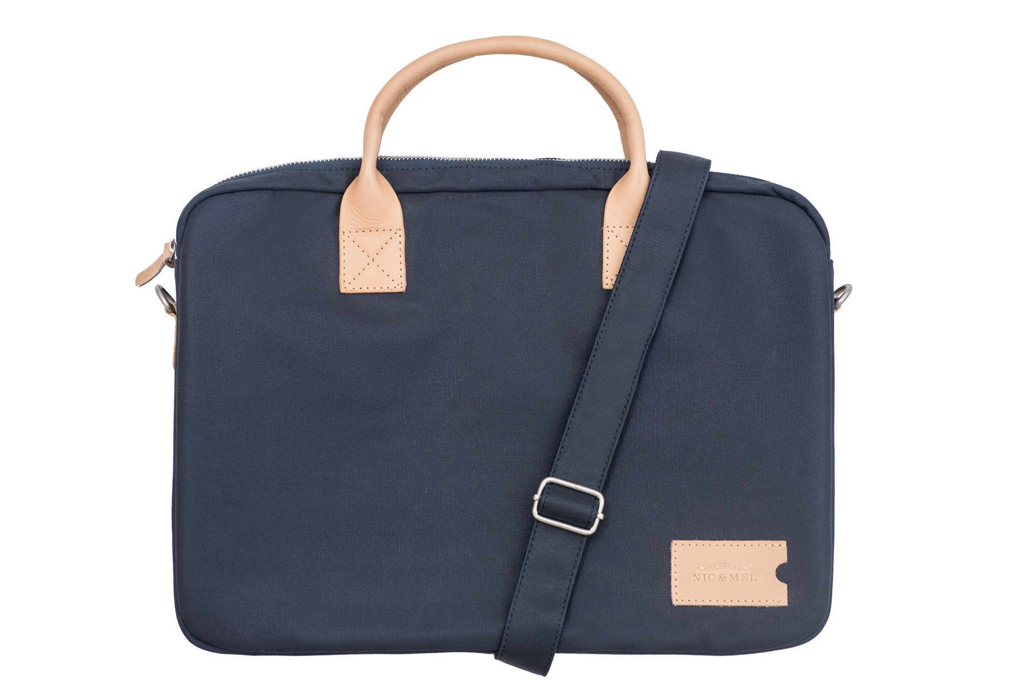 DUANE COMPUTERBAG 12-15″ <br>Blue Canvas