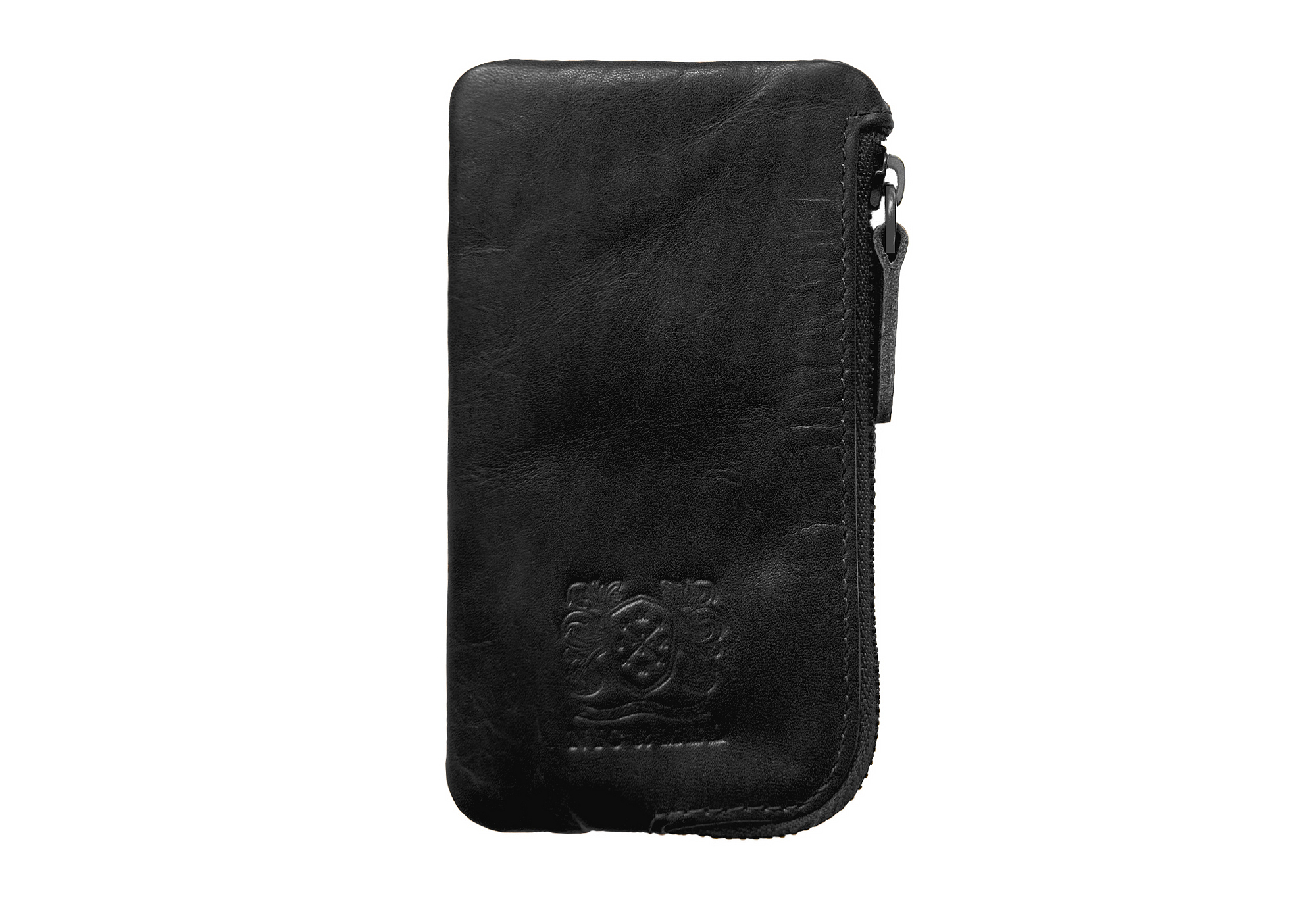 ACE CARD WALLET <br>Black Leather
