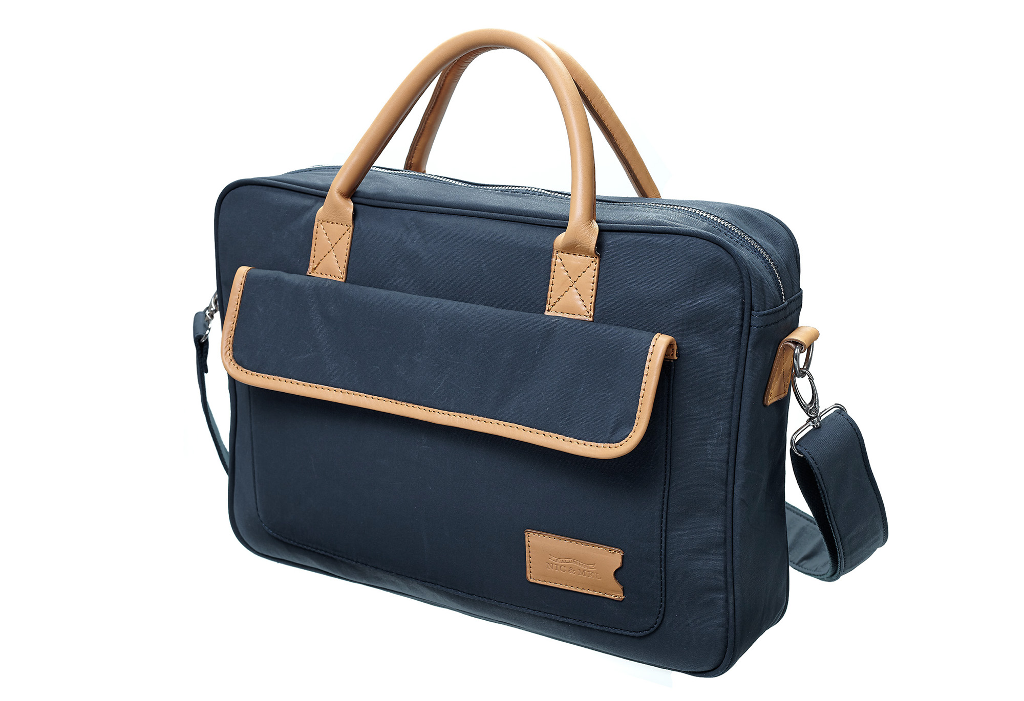 CARTER COMPUTERBAG 15″ <br>Blue Canvas