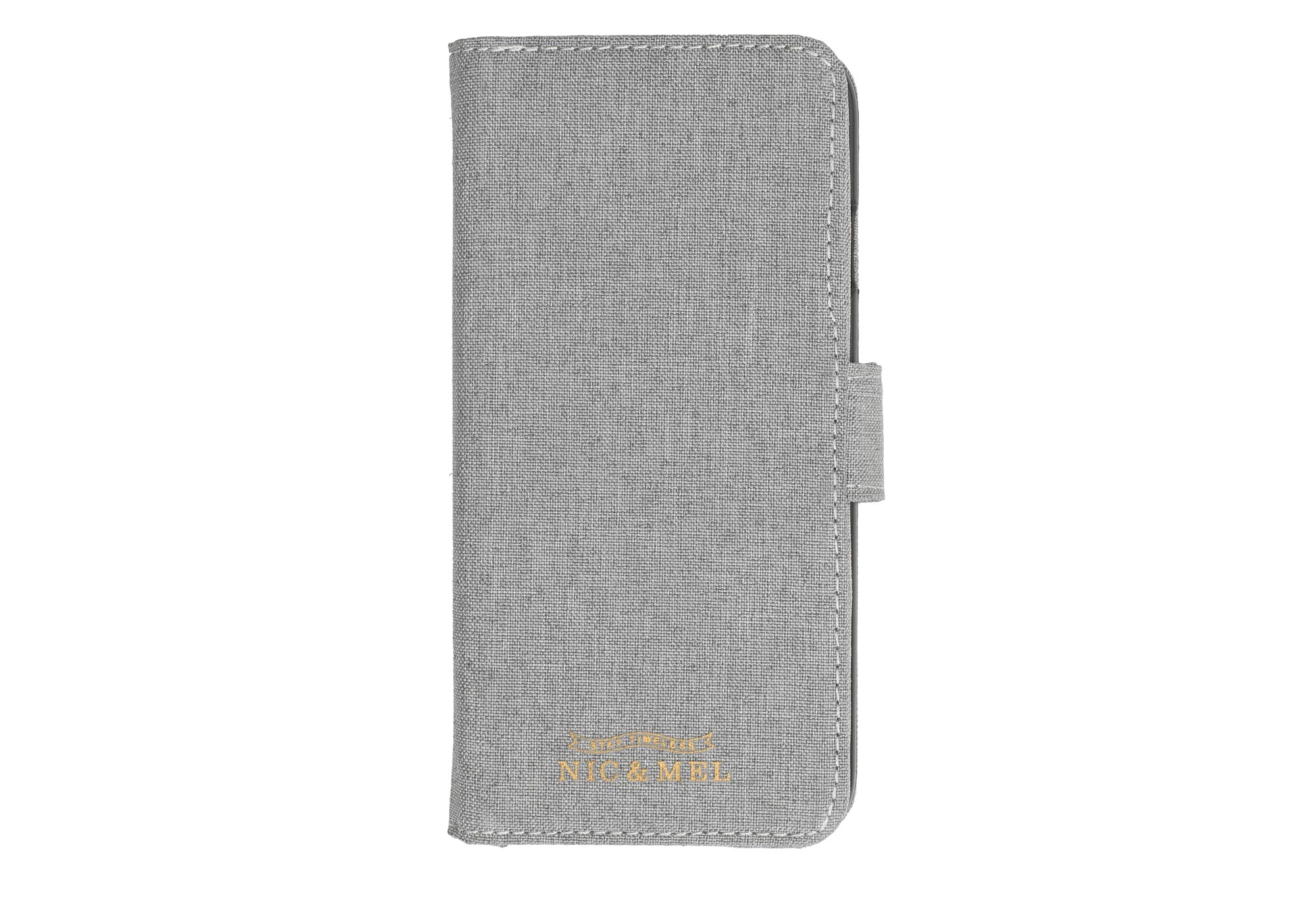 NEIL BOOKCASE <br>with Power Bank<br>Light Grey<br>iPhone 6/6S/7