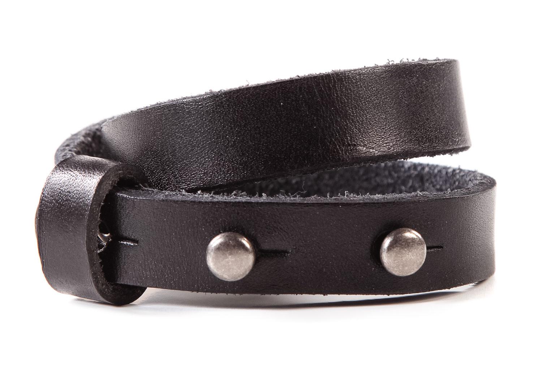 WRAP BRACELET<br> Dark Brown Leather